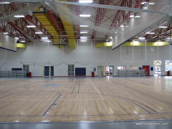 Energy Efficiency Upgrade Hach Gymnasium Northwood University Midland MI